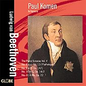 Beethoven: Piano Sonatas - Vol 5 / Komen