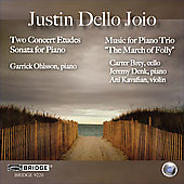 Justin dello Joio: Two Concert Etudes, etc / Ohlsson, et al