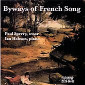 Byways of French Song - Gounod, et al / Sperry, Hobson