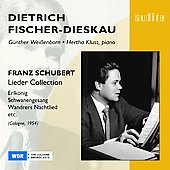 Schubert: Lieder / Fischer-Dieskau, Weissenborn, Klust