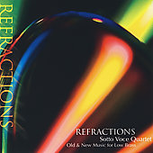 Schulz: Refractions; Tower, etc / Sotto Voce Quartet
