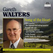 Walters: Song of the Heart, Poésies du soir, Violin Sonata, etc / Rose, Foulkes, et al