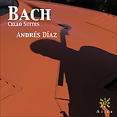 Bach: Cello Suites / Andrés Díaz
