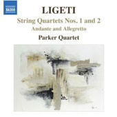 Gy&ouml;rgy Ligeti: String Quartets Nos. 1 & 2
