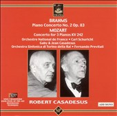 Brahms: Piano Concerto No. 2; Mozart: Concerto for 3 Pianos, KV. 242