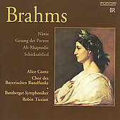 Johannes Brahms: N&#228;nie; Alt-rhapsody