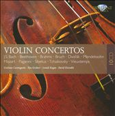 Bach, Beethoven, Brahms, Bruch: Violin Concertos