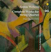 Webern: Complete works for String Quartet, Piano Quintet