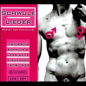 Various Artists: Schwule Lieder, Vol. 1 [Digipak]