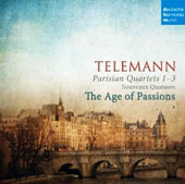 Telemann: Paris Quartets / Age of Passions