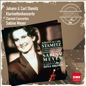 Johann & Carl Stamitz: Clarinet Concertos / Sabine Meyer, clarinet