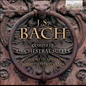 Bach: Complete Orchestral Suites (4) / Consort of London