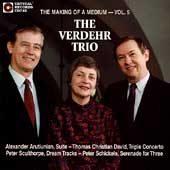 The Making of a Medium Vol 5 / Verdehr Trio