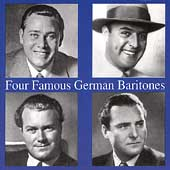 Four Famous German Baritones