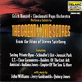 Cincinnati Pops Orchestra/Erich Kunzel (Conductor): Great Movie Scores from the Films of Steven Spielberg
