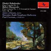 Kabalevsky, Muczynski: Piano Concertos, etc / Johnson, et al