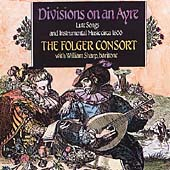 Divisions on an Ayre / William Sharp, Folger Consort