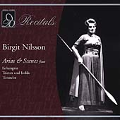 Recitals - An Evening with Birgit Nilsson Vol 1