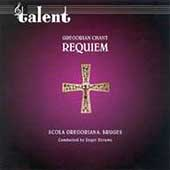 Gregorian Chant - Requiem / Deruwe, Schola Gregoriana Bruges