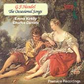 Handel: The Occasional Songs /Kirkby, Daniels, Miller, et al
