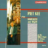 Piet Kee Plays Hindemith and Reger