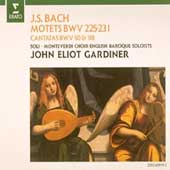 Bach: Motets BWV 225-231, Cantatas / John Eliot Gardiner