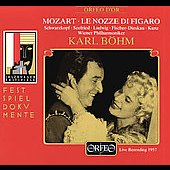 Mozart: Le nozze di Figaro / B&#246;hm, Schwarzkopf