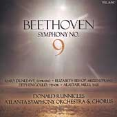 Beethoven: Symphony no 9 / Runnicles, Atlanta SO, et al