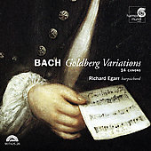 Bach: Goldberg Variations, 14 Canons / Richard Egarr