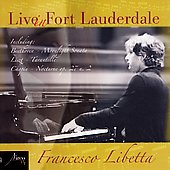 Francesco Libetta - Live In Fort Lauderdale