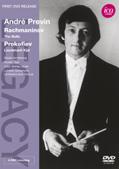 Rachmaninov: The Bells; Prokofiev / Andre Previn, London SO [DVD]