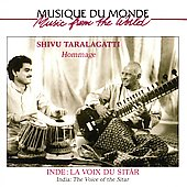 Shivu Taralagatti: India: The Voice of the Sitar *