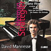 Strategier: Piano Works / David Mannesse