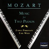 Mozart: Music for Two Pianos / Zaidee Parkinson, Earl Wild