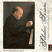 Schubert: Sonatas for Piano / Victor Rosenbaum