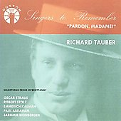 Singers to Remember - Richard Tauber