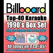 Sybersound: Billboard Top 40 Karaoke: 1990s [Box] [Box]
