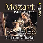 Mozart: Piano Concertos Vol 4 / Christian Zacharias
