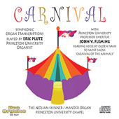Dvor&aacute;k: Carnival Oveture;  Massenet: Meditation, etc / Eric Plutz, John Fleming