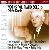 Bart&#243;k: Works for Piano Solo, Vol. 5