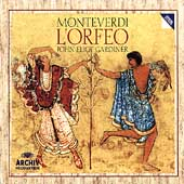 Monteverdi: L'Orfeo / Gardiner, Rolfe-Johnson, Baird, et al