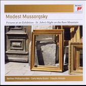 Mussorgsky: Pictures At An Exhibition; Night on Bare Mountain; Scerzo in B flat major; Festive March; Intermesso in modo classico / Giulini, Abbado, Berllin PO