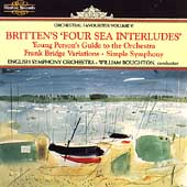 Orchestral Favourites Vol V - Britten's Four Sea Interludes