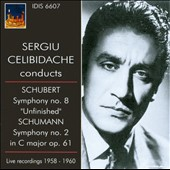 Sergiu Celebidache Conducts Schubert Symphony No. 8