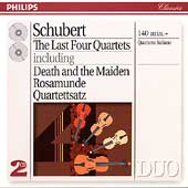 Schubert: The Last Four Quartets / Quartetto Italiano