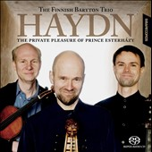 Hadyn: The Private Pleasure of Prince Esterh&#225;zy / the Finnish Baryton Trio
