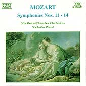 Mozart: Symphonies nos 11-14 / Ward, Northern CO
