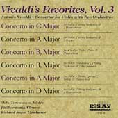 Vivaldi's Favorites Vol 3 / Mela Tenenbaum, Richard Kapp