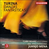 Joaquin Turina: Danzas Fantasticas / Clara Mouriz, soprano; Juanjo Mena