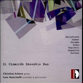 Music for percussion & guitar by Bellafronte, Jasbar, Palumbo, Podio, Taglietti / Christina Schorn, guitar; Ivan Mancinelli, percussion